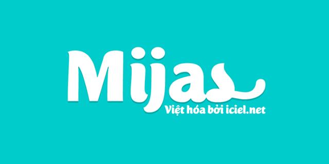 Font việt hóa Mijas