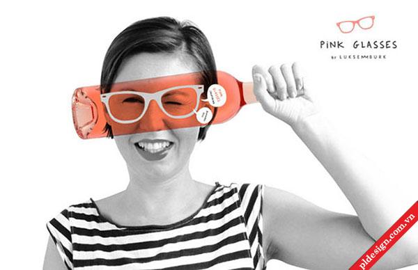 Rượu Pink Glasses. Bạn thích mẫu kính nào?